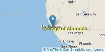 Location of College of Alameda