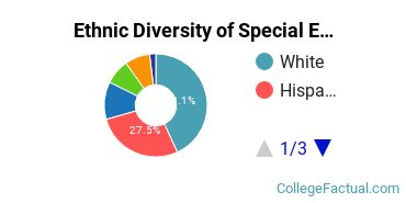 Ethnic Diversity of Special Education Majors at College of Southern Nevada