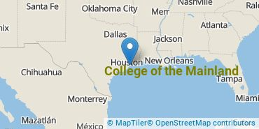 Location of College of the Mainland