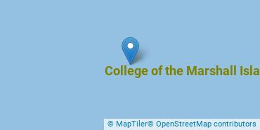 Location of College of the Marshall Islands