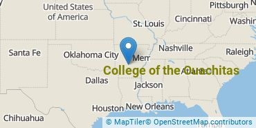 Location of College of the Ouachitas