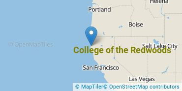 Location of College of the Redwoods