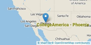 Location of CollegeAmerica - Phoenix