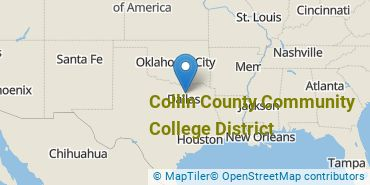 Location of Collin County Community College District