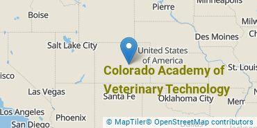 Location of Colorado Academy of Veterinary Technology