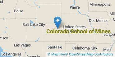 Location of Colorado School of Mines