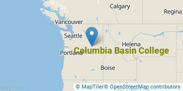 Location of Columbia Basin College