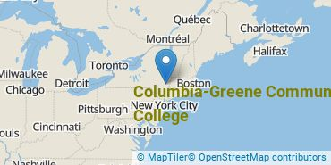 Location of Columbia-Greene Community College