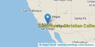 Location of Community Christian College