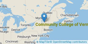 Location of Community College of Vermont