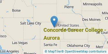 Location of Concorde Career College - Aurora