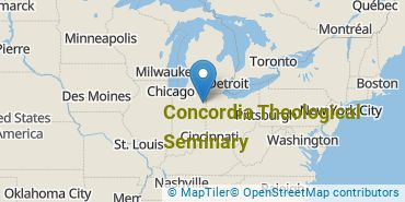 Location of Concordia Theological Seminary