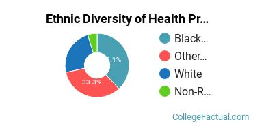 Ethnic Diversity of Health Professions Majors at Concordia University, Nebraska