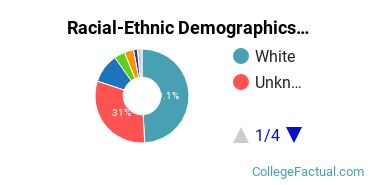 Concordia University, Nebraska Graduate Students Racial-Ethnic Diversity Pie Chart