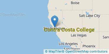 Location of Contra Costa College