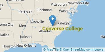 Location of Converse College