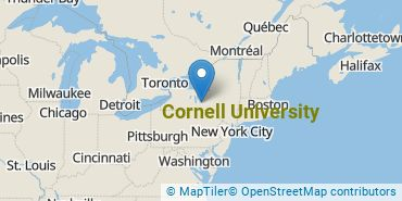 Location of Cornell University