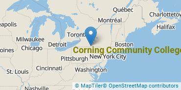 Location of Corning Community College