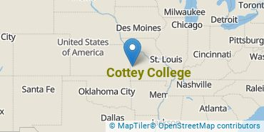 Location of Cottey College