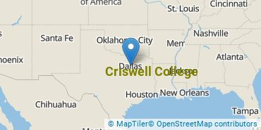 Location of Criswell College