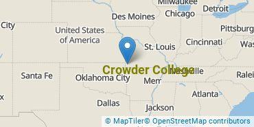 Location of Crowder College