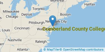 Location of Cumberland County College