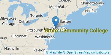 Location of CUNY Bronx Community College