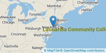 Location of CUNY LaGuardia Community College