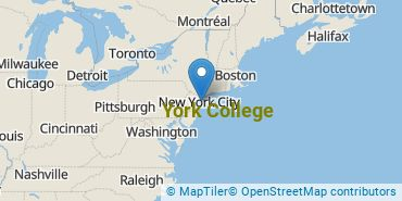 Location of CUNY York College