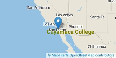 Location of Cuyamaca College