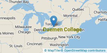 Location of Daemen College