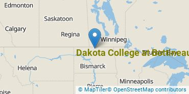 Location of Dakota College at Bottineau