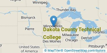 Location of Dakota County Technical College