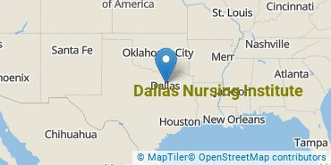Location of Dallas Nursing Institute