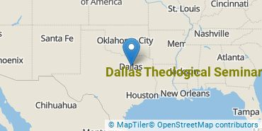 Location of Dallas Theological Seminary