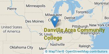 Location of Danville Area Community College