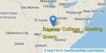 Location of Daymar College - Bowling Green
