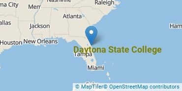 Location of Daytona State College