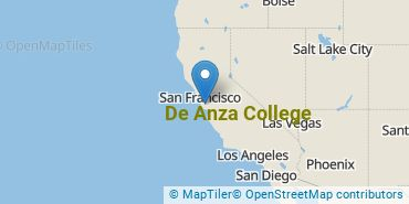 Location of De Anza College