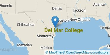 Location of Del Mar College