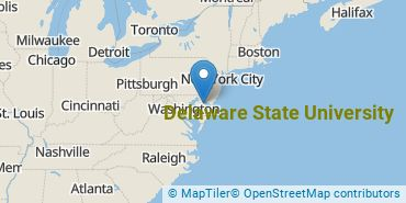 Location of Delaware State University