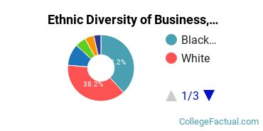 Ethnic Diversity of Business, Management & Marketing Majors at Delgado Community College