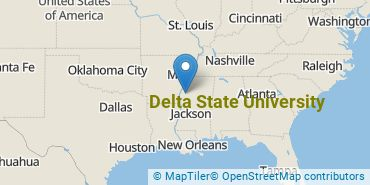 Location of Delta State University