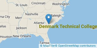 Location of Denmark Technical College