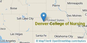 Location of Denver College of Nursing