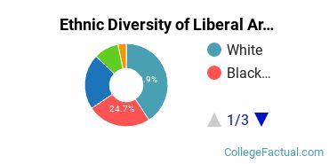 Ethnic Diversity of Liberal Arts General Studies Majors at DePaul University