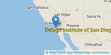 Location of Design Institute of San Diego