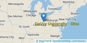 Location of DeVry University - Ohio