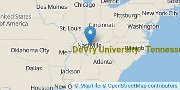 Location of DeVry University - Tennessee