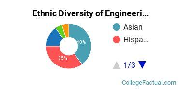 Ethnic Diversity of Engineering Majors at Diablo Valley College